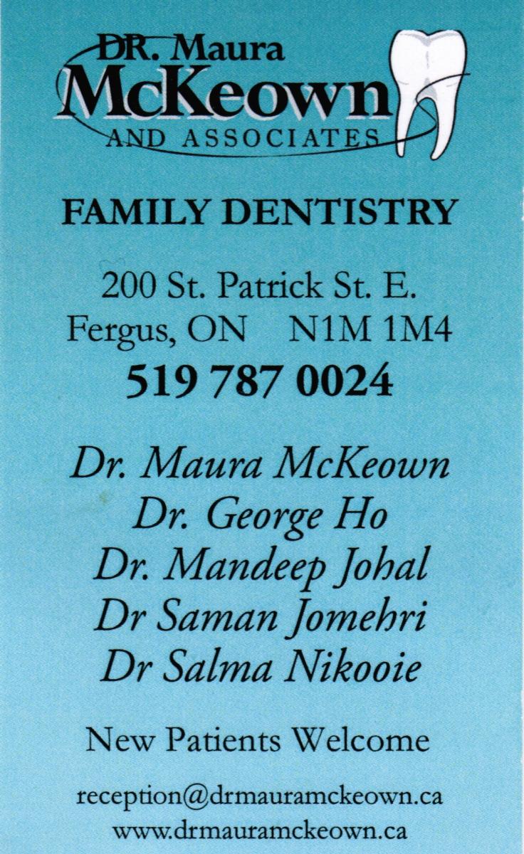 Dr Maura McKeown
