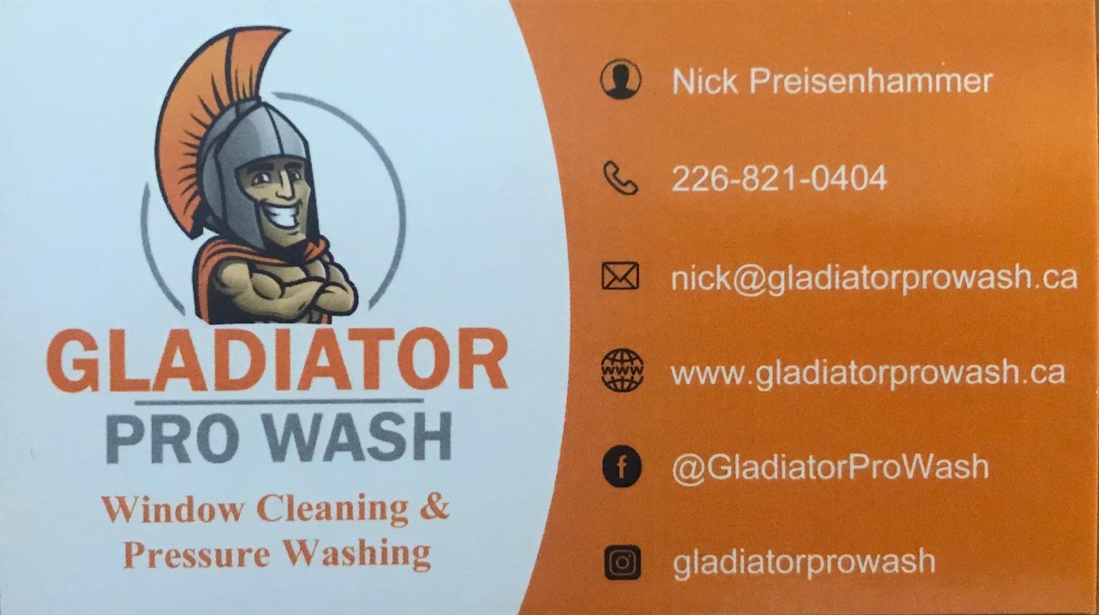 Gladiator-Wash